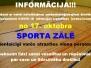 Info par sporta zāli