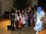 27/12/12 - Malvīne kopā ar Salatēti priecē Pļavinu DM darbinieku bērnus
