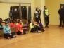 """VidusDaugavs koptreniņa komanda apciemoja bērnu centru """"Pepija"""" un deju grupas """"CRYSTAL"""" nodarbību"""