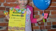 """Piektdien, kad skolās svin Skolotāju dienu, centrs """"Pepija"""" sveica 61000. centra apmeklētāju – Anastasiju Čereškeviču no 2.b klases. Paldies apmeklētājiem par aktīvo centra apmeklēšanu!"""